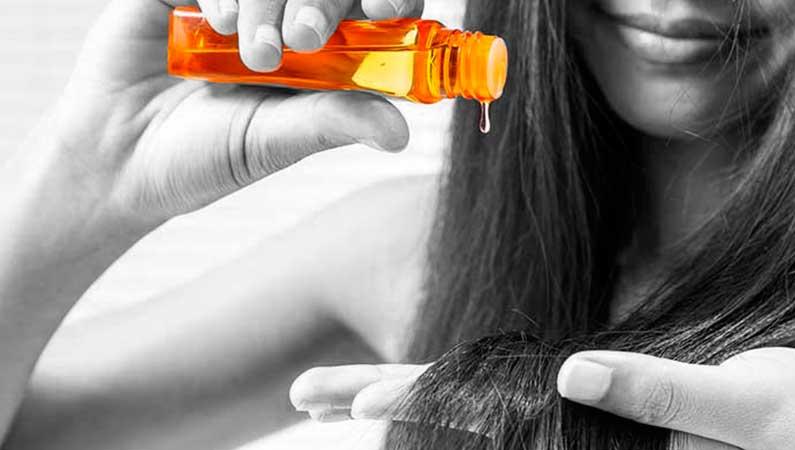 Aceites para nutrir e hidratar el cabello