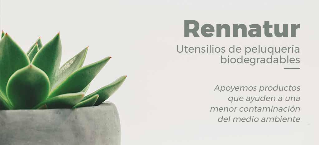Utensilios de Peluquería Biodegradables, ¡Cuidemos el medio ambiente con Rennatur!